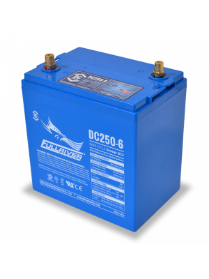 DC250-6 Fullriver 6V 250Ah GC2H Sealed Lead Acid AGM Battery