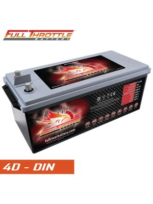 Fullriver Full Throttle FT1400 2650 PHCA, AGM Specialty Battery Group 4D (DIN)